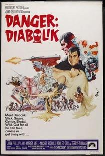 Assistir Perigo: Diabolik Online Grátis Dublado Legendado (Full HD, 720p, 1080p) | Mario Bava | 1968