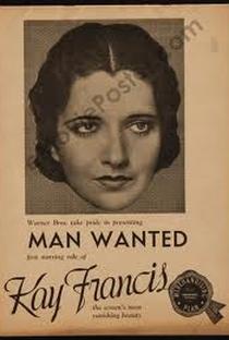 Assistir Precisa-se de um Homem Online Grátis Dublado Legendado (Full HD, 720p, 1080p) | William Dieterle | 1932