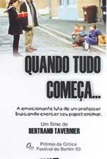 Assistir Quando Tudo Começa Online Grátis Dublado Legendado (Full HD, 720p, 1080p) | Bertrand Tavernier | 1999