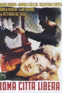 Assistir Roma Città Libera Online Grátis Dublado Legendado (Full HD, 720p, 1080p) | Marcello Pagliero | 1946