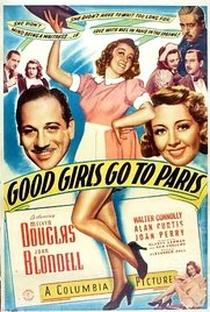 Assistir Rumo a Paris, Garotas! Online Grátis Dublado Legendado (Full HD, 720p, 1080p) | Alexander Hall (I) | 1939