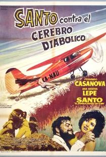 Assistir Santo Contra el Cerebro Diabólico Online Grátis Dublado Legendado (Full HD, 720p, 1080p) | Federico Curiel | 1963