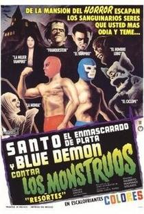 Assistir Santo e Blue Demon Contra os Monstros Online Grátis Dublado Legendado (Full HD, 720p, 1080p) | Gilberto Martínez Solares |