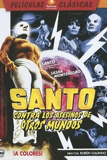 Assistir Santo versus Los Asesinos de Otros Mundos Online Grátis Dublado Legendado (Full HD, 720p, 1080p) | Rubén Galindo | 1973
