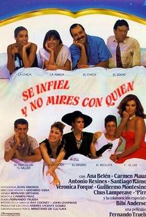 Assistir Seja Infiel e Não Olhe Com Quem Online Grátis Dublado Legendado (Full HD, 720p, 1080p) | Fernando Trueba | 1985