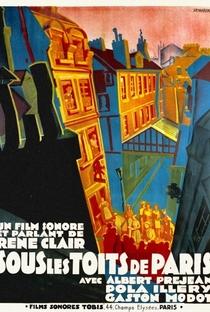 Assistir Sob os Tetos de Paris Online Grátis Dublado Legendado (Full HD, 720p, 1080p)   René Clair   1930