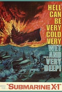 Assistir Submarino X-1 Online Grátis Dublado Legendado (Full HD, 720p, 1080p) | William A. Graham | 1968