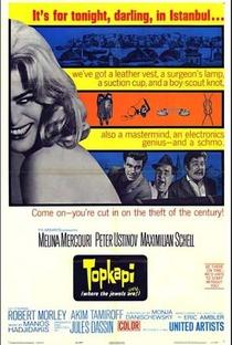 Assistir Topkapi Online Grátis Dublado Legendado (Full HD, 720p, 1080p) | Jules Dassin | 1964