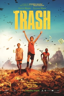 Assistir Trash: A Esperança Vem do Lixo Online Grátis Dublado Legendado (Full HD, 720p, 1080p) | Stephen Daldry | 2015