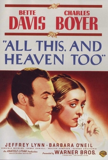 Assistir Tudo Isto e o Céu Também Online Grátis Dublado Legendado (Full HD, 720p, 1080p) | Anatole Litvak | 1940