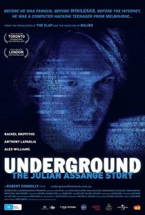 Assistir Underground:A História de Julian Assange Online Grátis Dublado Legendado (Full HD, 720p, 1080p) | Robert Connolly | 2012