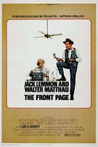 Assistir A Primeira Página Online Grátis Dublado Legendado (Full HD, 720p, 1080p) | Billy Wilder | 1974